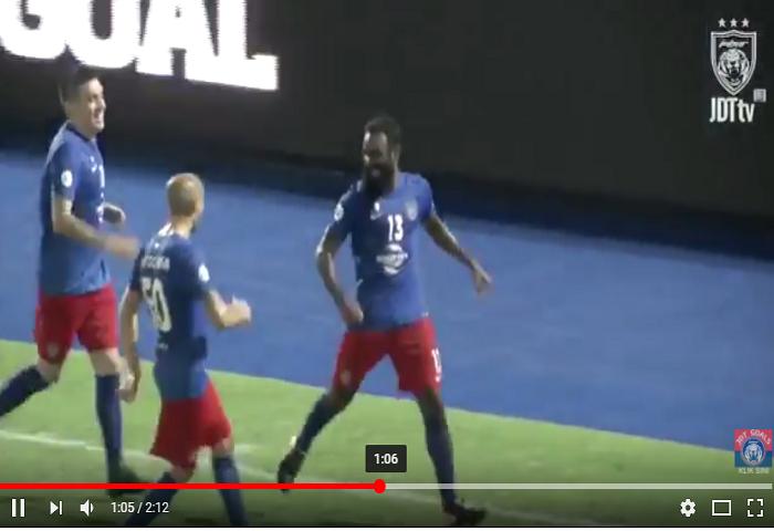 Video Rangkuman Jdt 3 Selangor 1