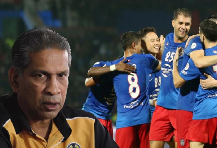 B. Sathianathan Memilih JDT Sebagai Juara Piala Malaysia 2017