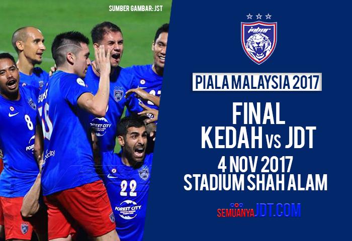 Final Piala Malaysia 2017 Cover