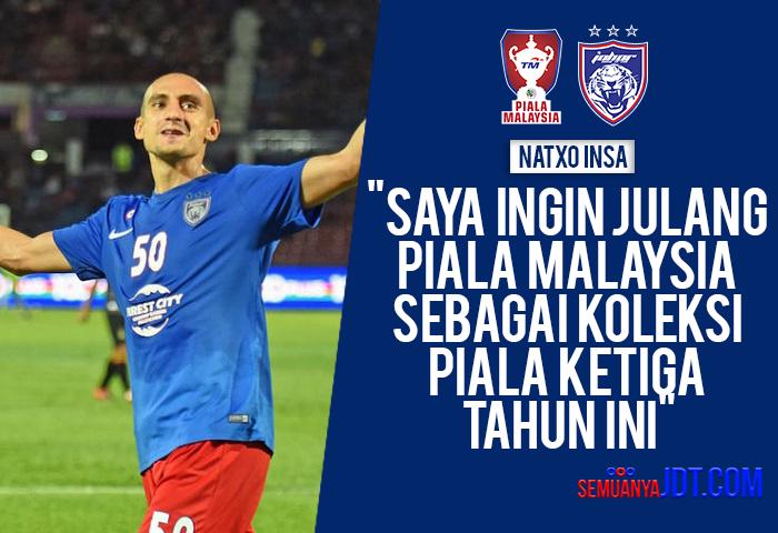 Saya Ingin Julang Piala Malaysia Sebagai Koleksi Piala Ketiga Tahun Ini Natxo Insa