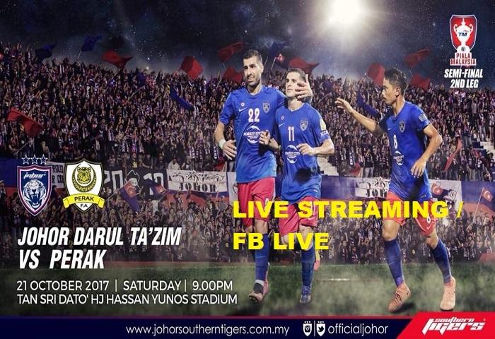 JDT Vs Perak Live Streaming