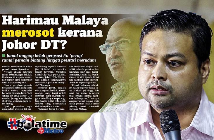Jamal Berfikiran Sempit, Usah Salahkan Johor DT – Kevin Ramalingam