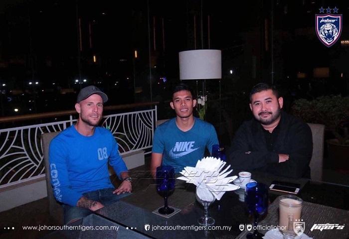 Syafiq Ahmad Ke Johor Bahru Atas Jemputan TMJ