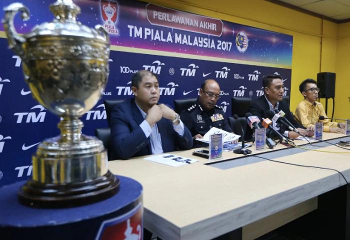 Tiket Final Piala Malaysia 2017 Diperuntukkan
