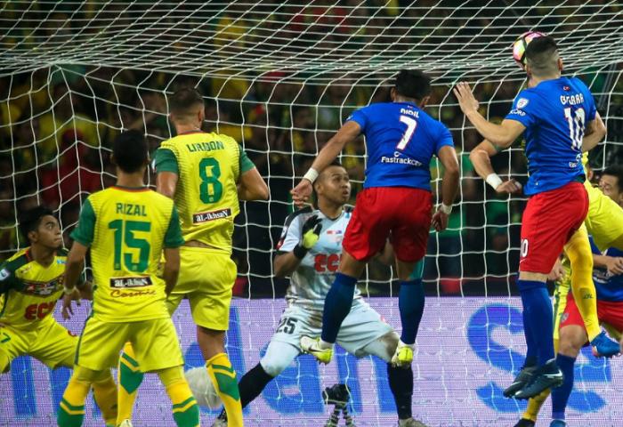 Aidil Zafuan Menjaringkan Gol