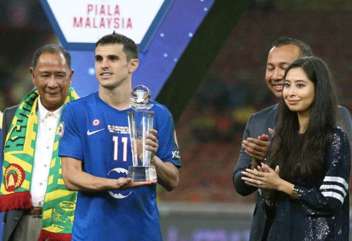 Gonzalo Cabrera Piala Malaysia 2017