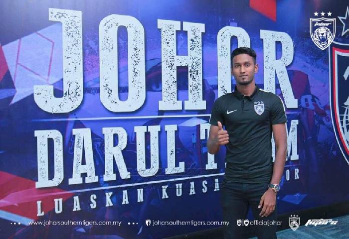 Pemain Baru JDT 2018: Syamer Kutty Abba