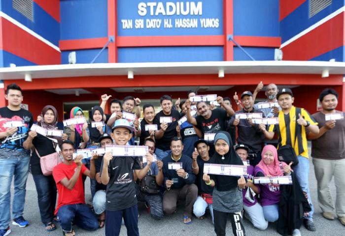 PBNJ Puji Kelancaran Jualan Tiket Di Stadium Larkin