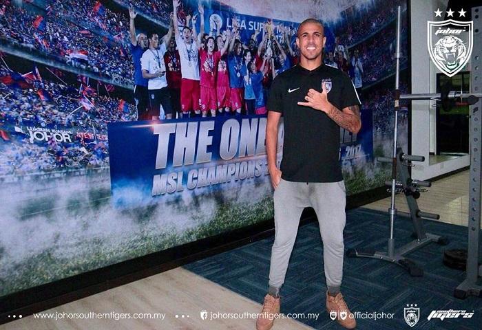Pemain Baru JDT 2018: Bruno Gabriel Soares