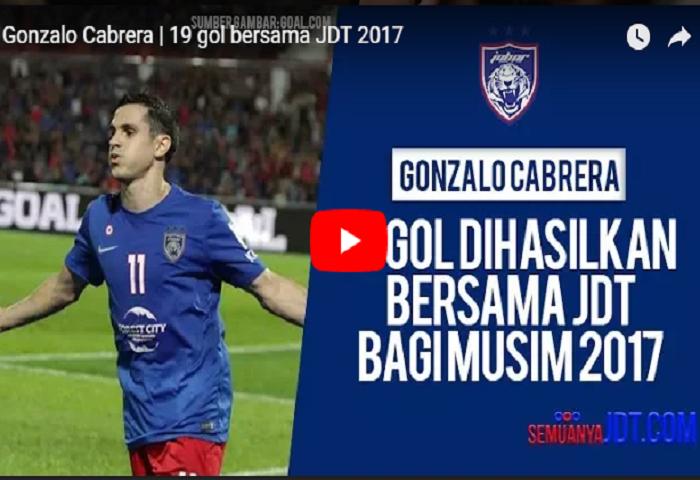 19 Gol Gonzalo Cabrera