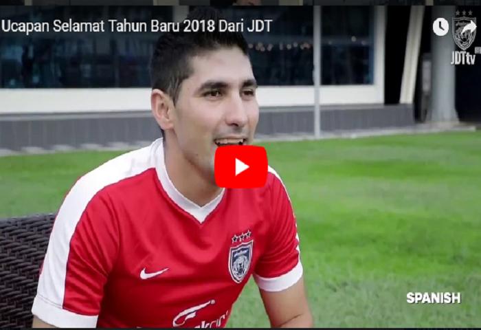VIDEO: Ucapan Selamat Tahun Baru 2018 Dari JDT