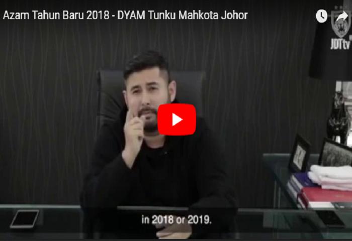 VIDEO: Azam Tahun Baru 2018 Dari TMJ, Nazmi Faiz Dan Hazwan Bakri