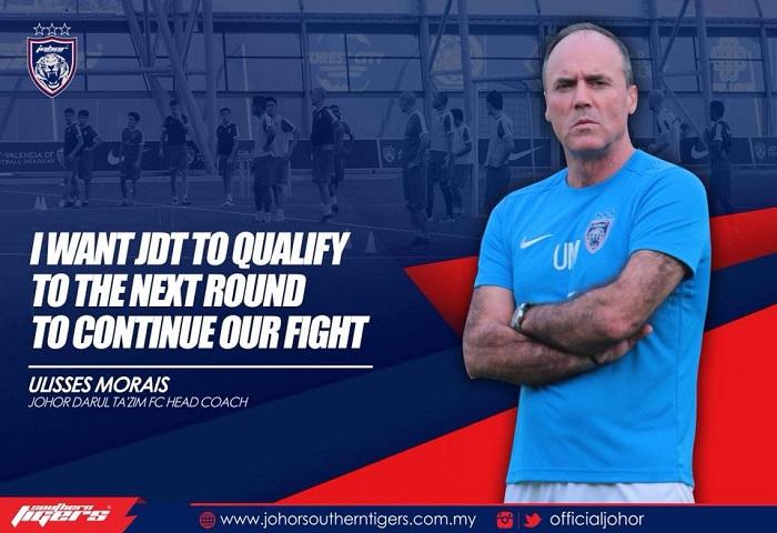 JDT Mahu Layak Ke Piala ACL Dalam Percubaan Keempat