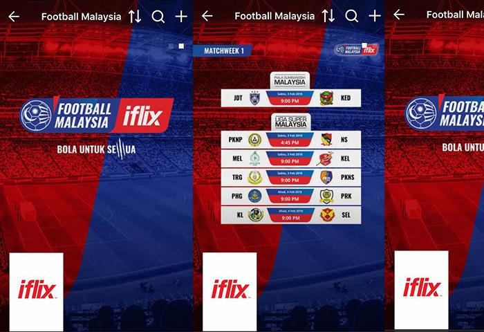 Panduan Untuk Menonton Perlawanan Liga Malaysia Di IFlix