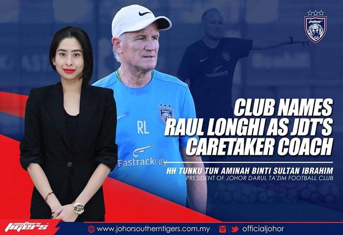 Raul Longhi Caretaker Jdt
