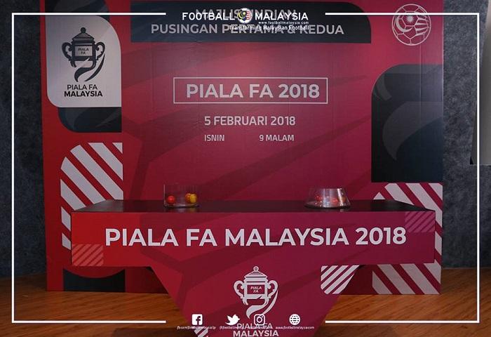 Piala FA 2018: Undian Pusingan Pertama Dan Kedua Live Streaming