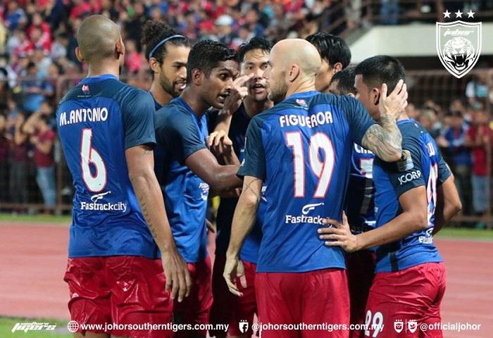 Piala FA 2018: JDT Tewaskan Sabah Selepas Aksi 120 Minit