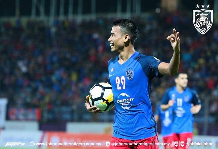 Hatrik Safawi Sekat Hajat Besar UiTM FC