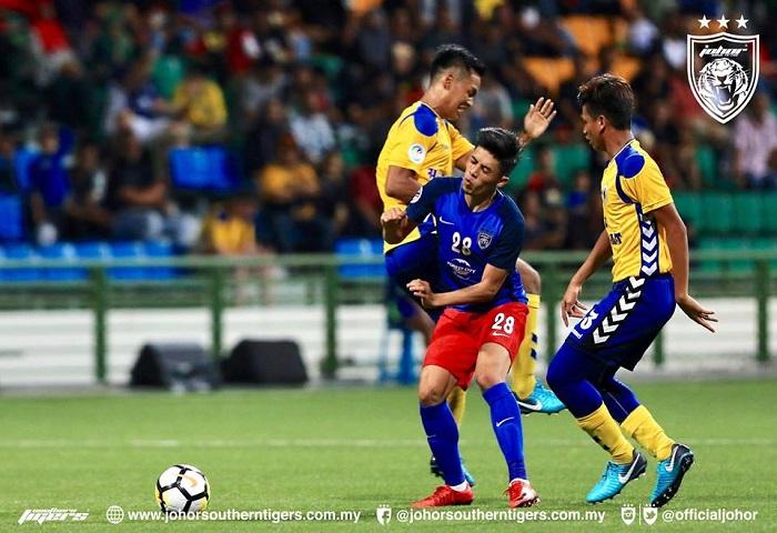 Piala AFC 2018: JDT, Tampines Rovers Berkongsi Mata