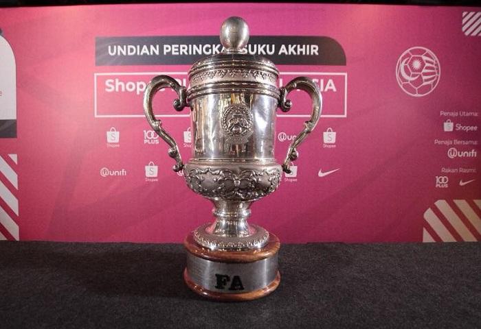 Undian Suku Akhir Piala FA 2018, JDT Bertemu Dengan Pahang