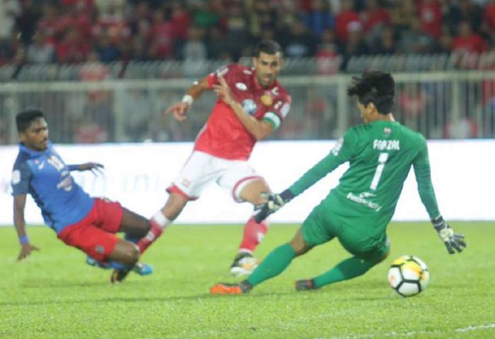 JDT Benam Kelantan Setelah Ketinggalan Satu Gol Pada Minit Ke-11
