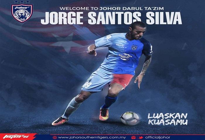 Pemain Baru JDT 2018: Jorge Santos Silva