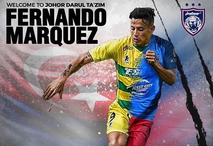 Pemain Baru JDT 2018: Fernando Marquez