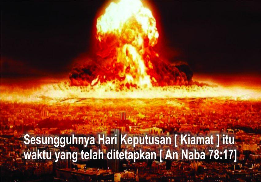 Jika Telah Datang Hari Kiamat, Semua Akan Hancur Kecuali 7 Ciptaan Allah Ini
