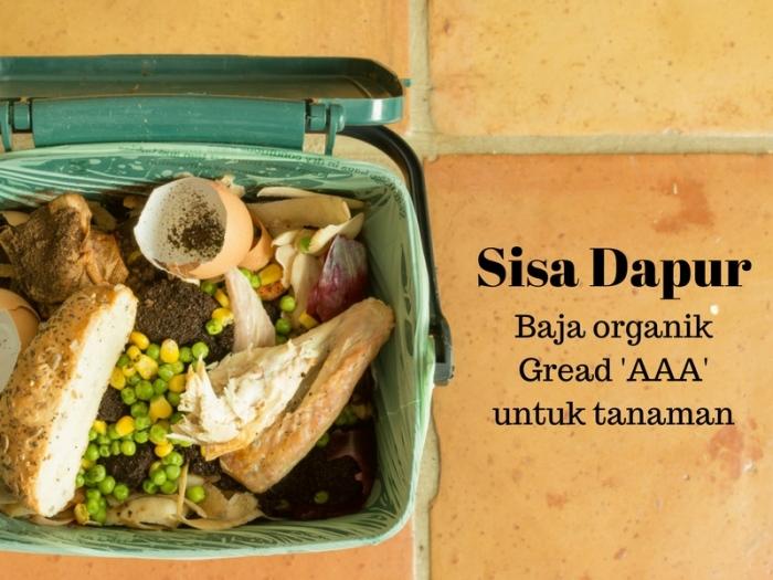 Inilah 7 Bahan Sisa Dapur Yang Dijadikan Baja Organik Terbaik
