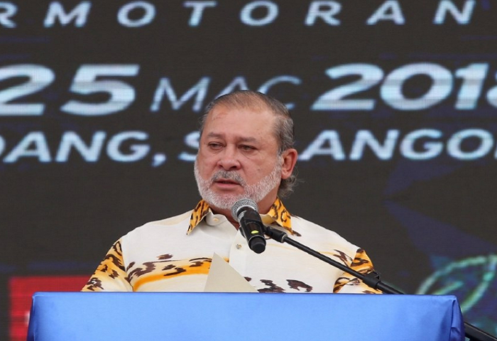 Sultan Johor Murka Berita Palsu