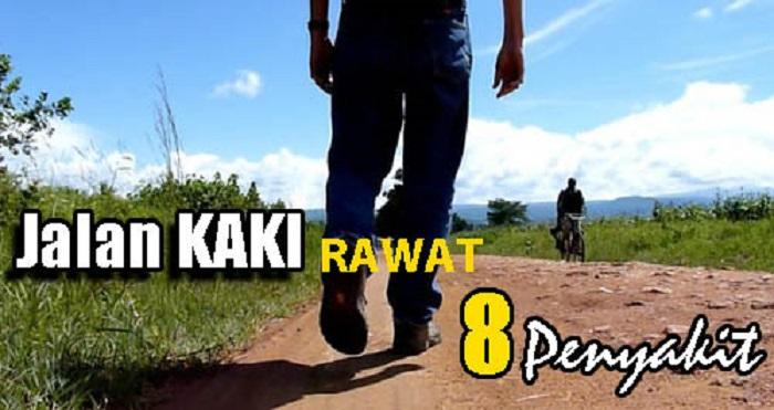 8 Penyakit Ini Boleh Sembuh Hanya Berjalan Kaki
