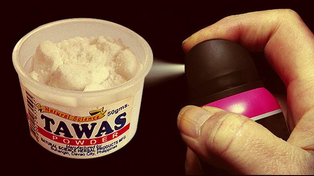 Inilah Cara Buat Deodoran Sendiri Dan Hilangkan Bau Ketiak Hangit Dengan Batu Tawas