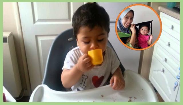 Ibu Jangan Lupa Latih Bayi Minum Guna Cawan Penting Supaya Anak Tak Pelat Teruk Sampai Besar