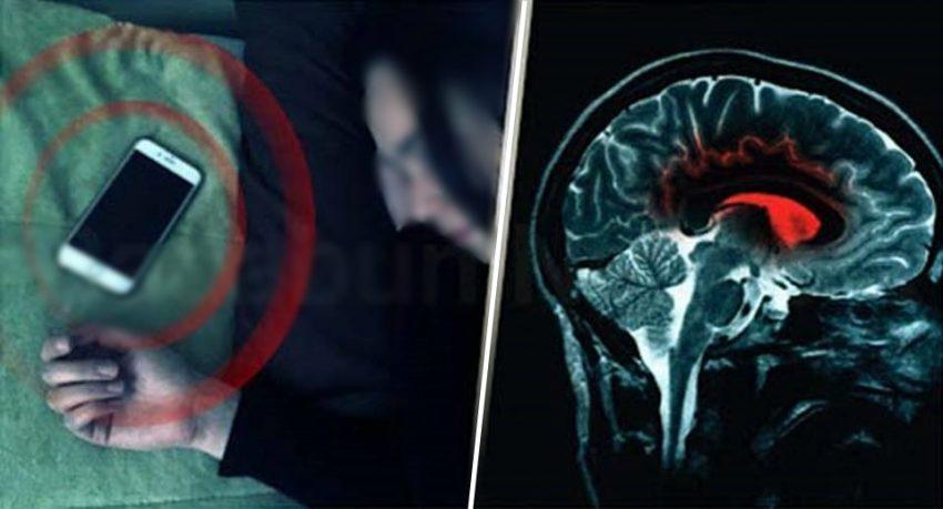 Selalu Tertidur Dengan Handphone Di Kepala? Awas,Lihat Kesan Ini Kepada Otak Anda