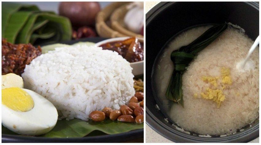 Masak Nasi Lemak Selalu Lembik & Mentah. Ini 5 Tip Agar Ia Menjadi