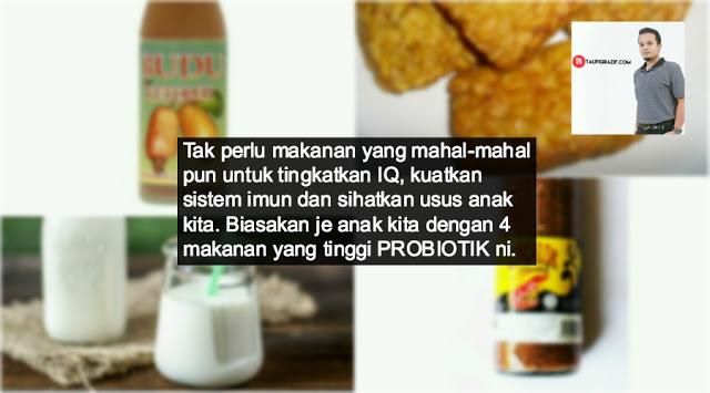 Makananprebiotik