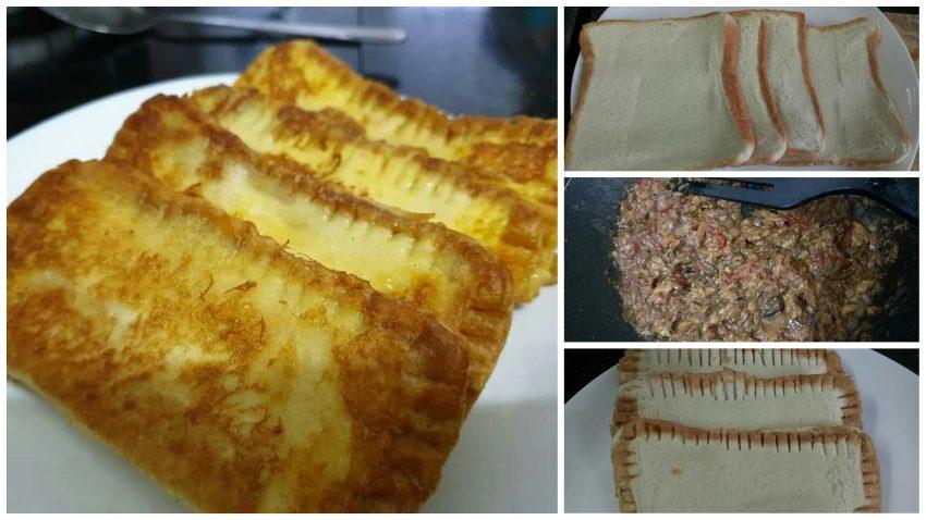 Inilah Resepi Roti Sardin 'Confirm Ketagih. Mudah Je Nak Buat