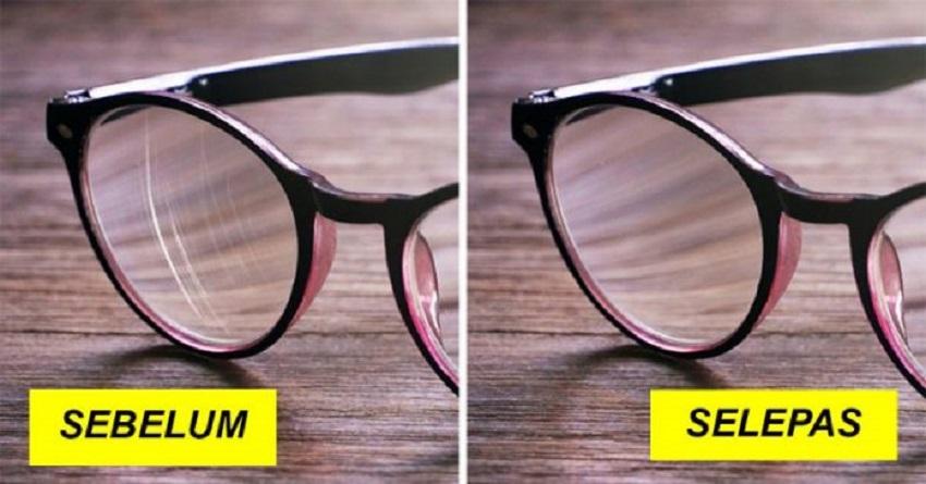 6 Cara Mudah Hilangkan Calar Pada Cermin Mata, Tak Perlu Tukar Kanta Baru