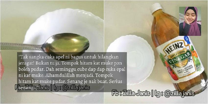 Cuka Epal Cantik Muka