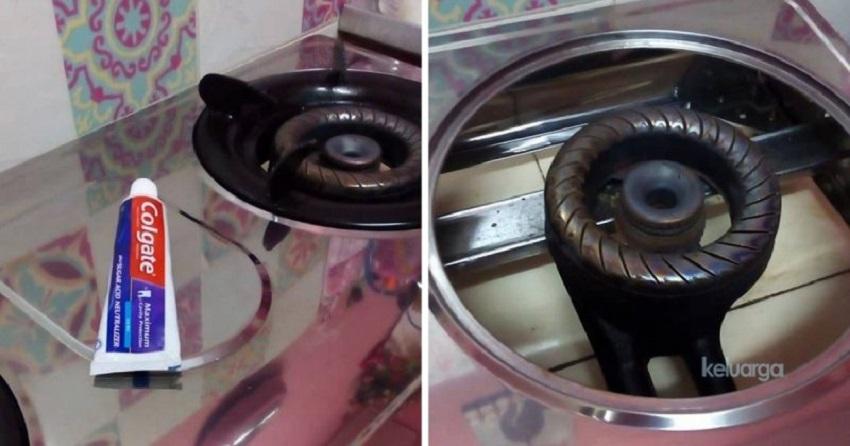 Kilatkan Dapur Dengan Colgate