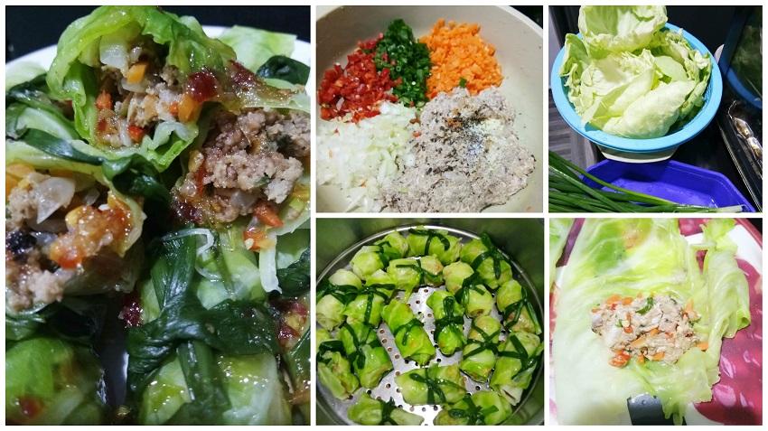Resepi Kubis Roll Yang Sihat & Berkhasiat. Diet Tetap 'On'