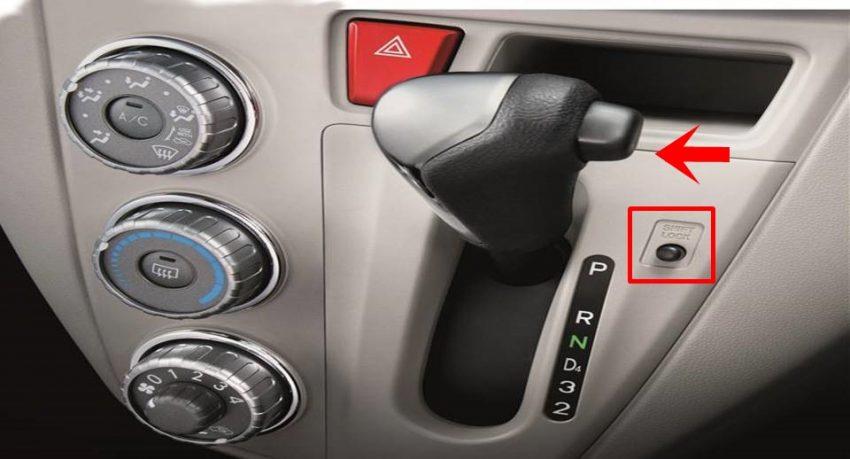 Baru Tahu Rupanya Ini Fungsi Butang Shift Lock Pada Gear Kereta Auto