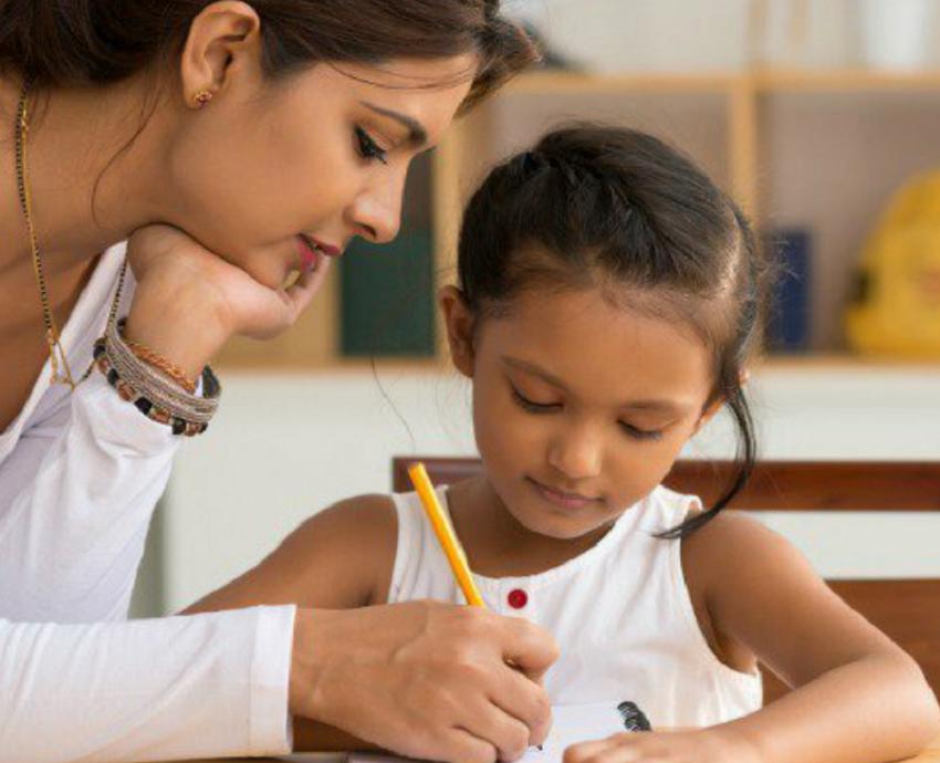 Tip Ajar Anak Dirumah