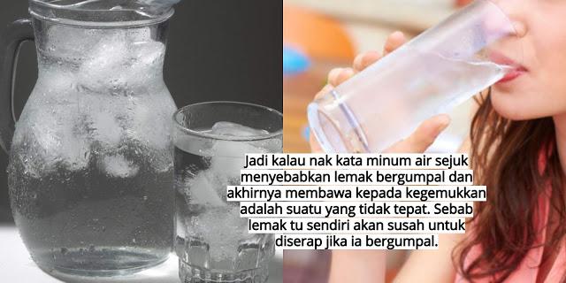Minum Ais Boleh Gemuk