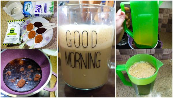 Cara Buat Kopi Latte Ala Kampung