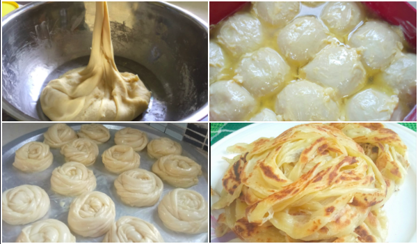 Resepi Roti Canai Homemade, Nak Frozen Pun Boleh!