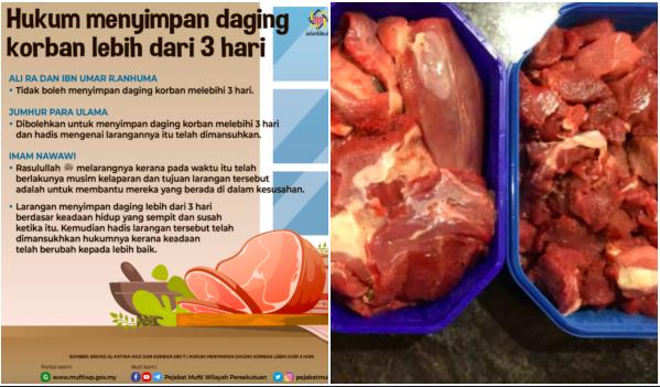 Hukum Simpan Daging Korban Lebih Dari 3 Hari- Mufti WP